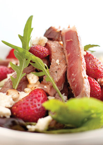 Steak and Strawberry Salad